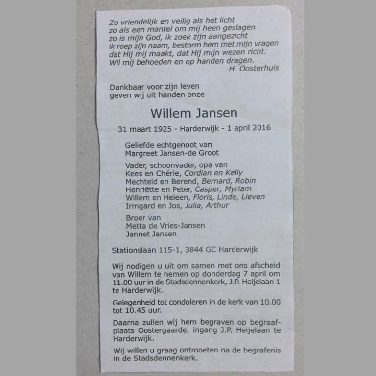 STEREOTYPO Obituary Type